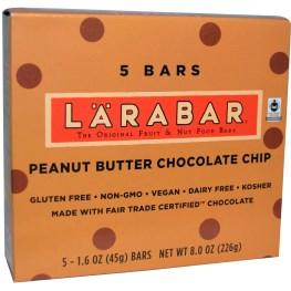 LARABAR ピーナッツバターチョコチップ
