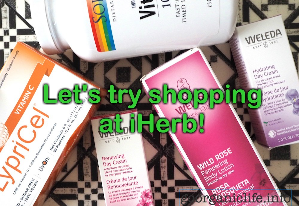 Lets shop at iherb